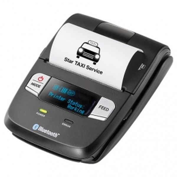 Star Micronics SM-L200 - Mobiler Thermodirekt Bondrucker, Bluetooth, USB, schwarz