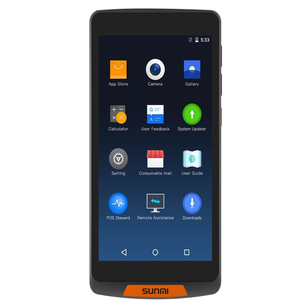 Sunmi M2 - Mobiles Industrie Touchterminal, 5 Display, Android 7.1, 1GB/8GB, 4G